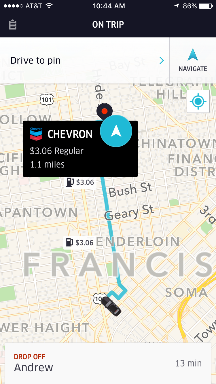 Driver Maps on