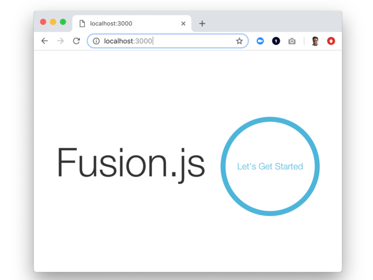 Build a 'Hello World!' Application in 5 Minutes with Fusion.js